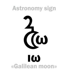 Astrology io vector
