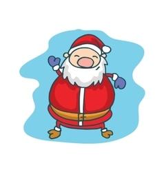Character Santa Claus Christmas theme vector