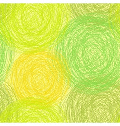 Colorful scribble seamless pattern vector