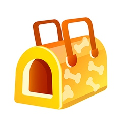 Icon dog house vector