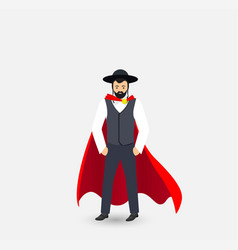 Jew superhero vector