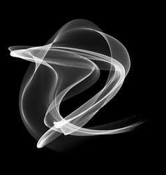 abstract digital smoke cloud vector image