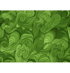 seamless wave background of drawn lines vector image vector image