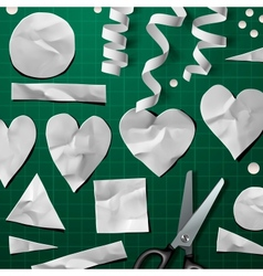 Design elements for Valentines Day Party vector image