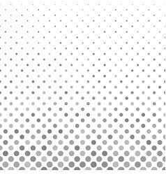 Grey geometrical circle pattern background from vector