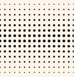 half tone circles pattern halftone dots vector image