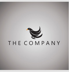 Hawk logo ideas design on vector