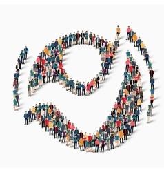 man symbol people vector image