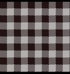 rectangle seamless knitted pattern vector image