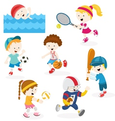 Sports Set vector image