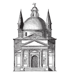 St saviours venice one cause served to render vector