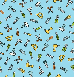 Tools pattern vector image