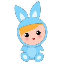Babies Of Hare Suit vector image vector image