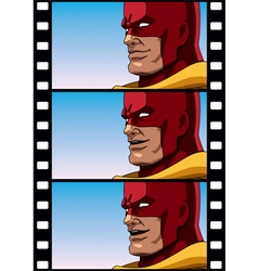 Superhero Talk vector image