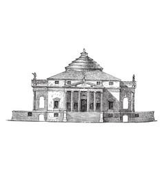 Villa by palladio the compositions of palladio so vector