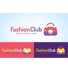 Shopping woman bag icon isolated on white vector image