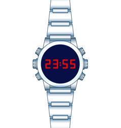 abstract smart watch vector image