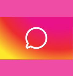 app icon background template gradient fresh color vector image
