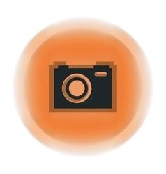 Camera watercolor isolated icon design vector
