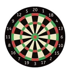 Darts board vector