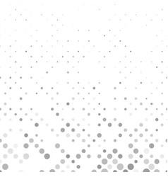 Grey abstract repeating dot pattern - snowfall vector