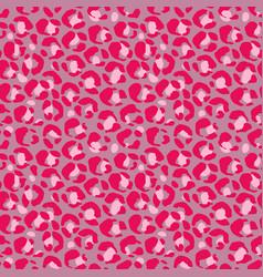 Leopard print seamless pattern vector