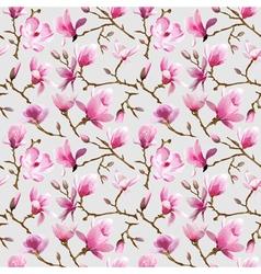 Magnolia Flowers Background vector