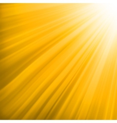 Orange luminous rays EPS 8 vector