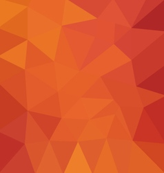 Polygonal Red background vector