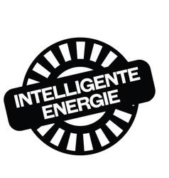 Smart energy stamp in german vector