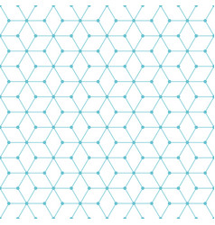 cube-and-dot-pattern-background vector image vector image