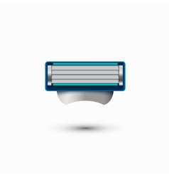 modern razor icon on white background vector image vector image