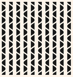 vertical wavy stripes geometric texture vector image