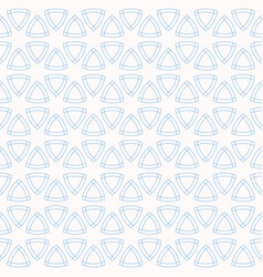 abstract geometric seamless pattern with rounded vector image