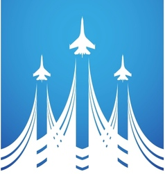 Air flight vector image
