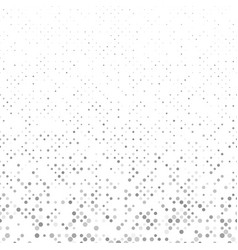 Grey geometric dot pattern background - design vector