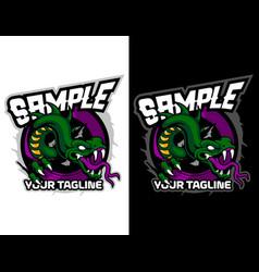 Modern animal mascot for esport logo and t-shirt vector