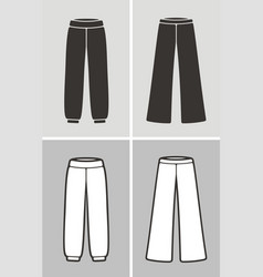 pants vector image
