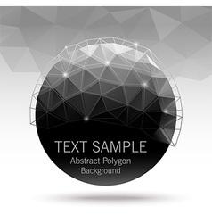 polygonBall vector image