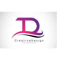Td t d letter logo design creative icon modern vector