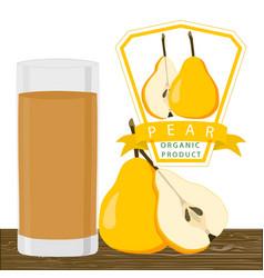 The fruit pear vector
