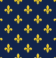 Yellow Emblem Pattern vector image vector image