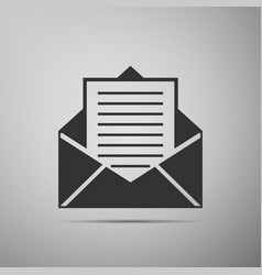 mail and e-mail icon envelope symbol e-mail vector image
