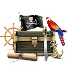 Pirate Concept vector image vector image