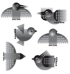Birds icon vector