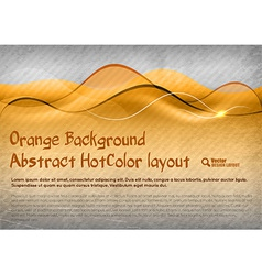 HotColor Background vector image