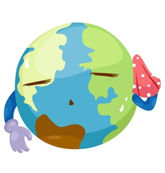 global warming vector image vector image