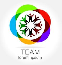 team logo vector image