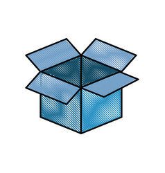 box deposit object vector image