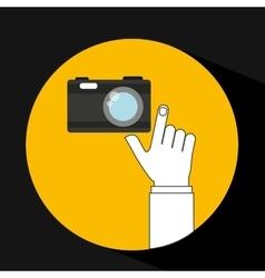 Camera device icon vector